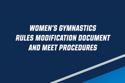 NCAA Women's Code Modifications for 2021