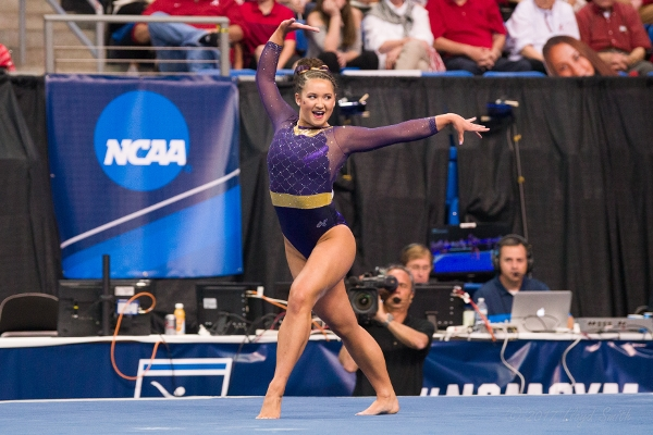 LSU's Sarah Finnegan and Her Squad Move into #2