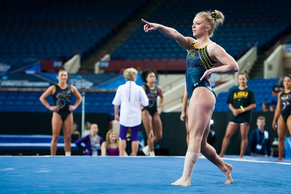 Nicole Artz and the Michigan Wolverines Look for a Spot at Nationals