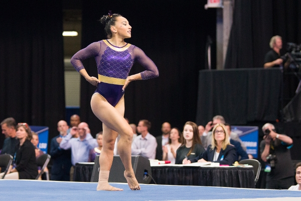 LSU's Myia Hambrick is #1 on FX This Week