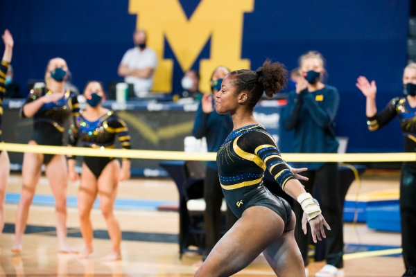Michigan Was Led by Sierra Brooks
